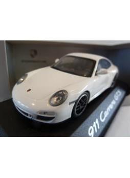 """Модель автомобиля """"Porsche 911 Carrera GTS 1:43"""", белый"""