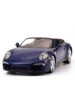 """Модель автомобиля """"Porsche 911 Carrera 4 Cabriolet (991) 1:43"""", синий"""