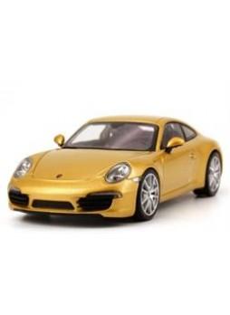 """Модель автомобиля """"Porsche 911 Carrera S (991) 1:43"""", золотистый"""
