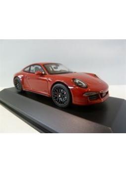 """Модель автомобиля """"Porsche 911 (991) Carrera GTS 1:43"""", красный"""