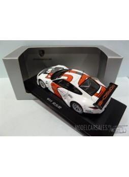 """Модель автомобиля """"Porsche 911 (991) RSR 1:43"""", белый"""
