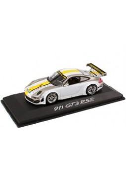 """Модель автомобиля """"Porsche 911 GT3 RSR (997 II) 1:43"""", серебристый"""