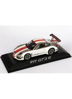 """Модель автомобиля """"Porsche 911 GT3 R (997) 2010 1:43"""", белый"""
