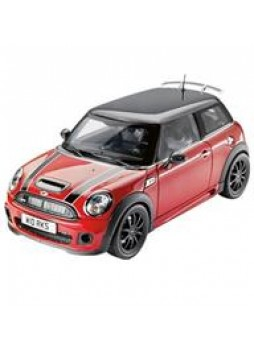 "Машинка ""MINI COOPER S JCW Chili Red 1:18"""