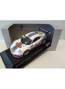 """Модель автомобиля """"Porsche 911 (991) GT3 Cup 1:43"""", белый"""