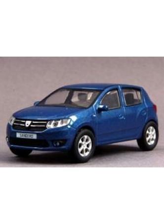 Модель автомобиля Renault Dacia Sandero 2 1:43, синий оптом