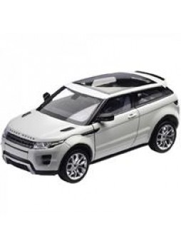 "Модель автомобиля ""Land Rover RANGE ROVER EVOQUE 1:24"", белый"