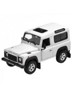 "Модель автомобиля ""Land Rover RANGE ROVER DEFENDER 1:24"", белый"
