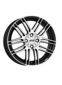 """Диск колёсный литой """"CLIFF dark 8x18, 5x108, ET45, D70.1, черный полированный (BKF/P)"""""""