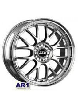 """Диск колёсный литой """"AR1 6.5x15, 4x114,3, ET38, D73, серебристый с полированным ободом"""""""