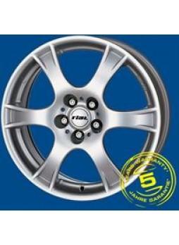 """Диск колёсный литой """"Campo 5.5x14, 4x100, ET35, D63.3, серебро"""""""