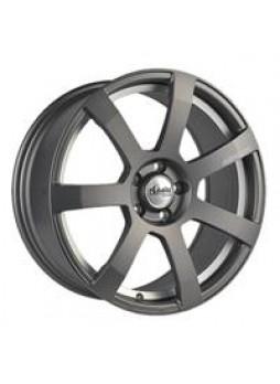"""Диск колёсный литой """"MK512U 7.5x17, 5x108, ET45, D63.4, матовый графит с гравированным логотипом advanti на луче и полированным"""