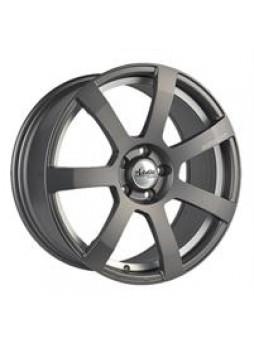 """Диск колёсный литой """"MK512U 8x18, 5x114,3, ET40, D67.1, матовый черный с гравированным логотипом advanti на луче и полированным"""