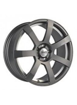 """Диск колёсный литой """"MK512U 8x18, 5x114,3, ET40, D67.1, матовый графит с гравированным логотипом advanti на луче и полированным"""