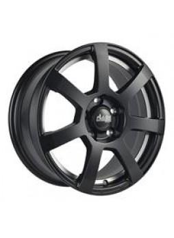 """Диск колёсный литой """"MK512U 7x16, 4x108, ET25, D65.1, матовый черный с полированным подрезом обода (MBUP)"""""""
