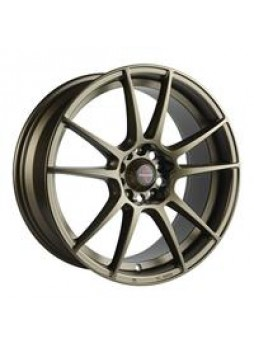 """Диск колёсный литой """"ML525L 8x18, 5x114,3, ET35, D73.1, матовый бронзовый (MAGMU)"""""""