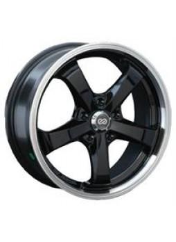 """Диск колёсный литой """"S937 7x16, 5x100, ET45, D56.1, черный с полированным ободом (BKL)"""""""