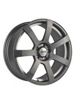 """Диск колёсный литой """"MK512U 6x15, 5x112, ET45, D57.1, матовый графит с гравированным логотипом advanti на луче и полированным по"""