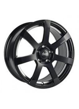 """Диск колёсный литой """"MK512U 7x16, 5x114,3, ET40, D67.1, матовый черный с гравированным логотипом advanti на луче и полированным"""