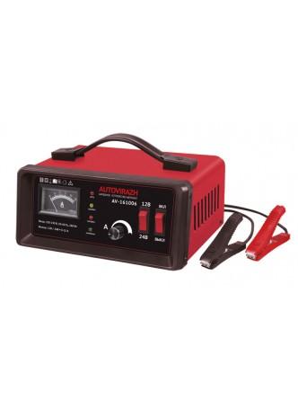 Зарядное устройство для АКБ Autovirazh AV-161006 (автомат, 0-10А, до 180 Ач, 12/24В)