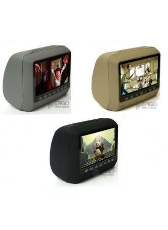 Подголовник с DVD и дисплеем 9 дюймов Ergo ER 9HD