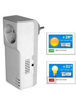 GPS розетка ReVizor R2 с контролем температуры