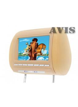 Подголовник с DVD и дисплеем 8 дюймов AVIS AVS0811T