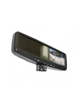 Видеорегистратор с навигатором в зеркале ERGO ER440DVR